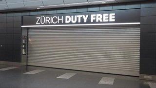 L'aéroport de Zurich à l'arrêt