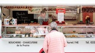 Neuchâtel: le retour des maraîchers en images