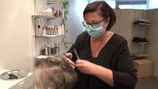 Coronavirus: les coiffeurs heureux de pouvoir retravailler