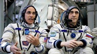 Espace: deux cosmonautes et un astronaute ont quitté la Terre pour l'ISS