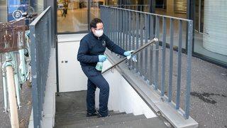 Coronavirus: un spécialiste de la décontamination raconte