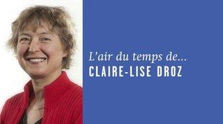 «Fais-moi peur!», l'air du temps de Claire-Lise Droz