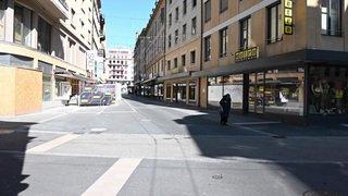La Ville de Neuchâtel désertée
