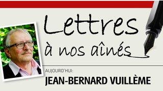 Ecrivain neuchâtelois, Jean-Bernard Vuillème s'adresse aux aînés