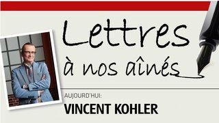 Humoriste chaux-de-fonnier, Vincent Kohler écrit à ses grands-parents