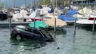 Sauvetage dans le port de Neuchâtel