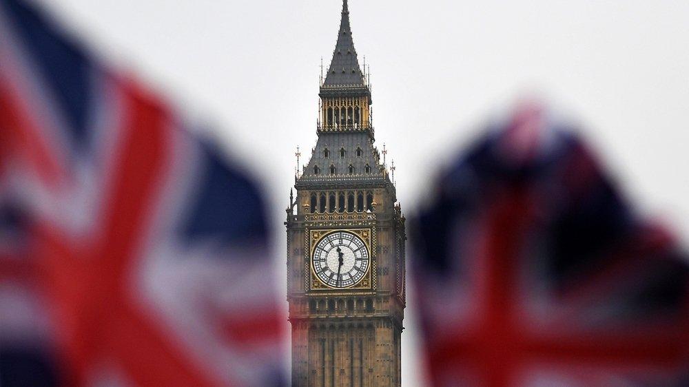 Big Ben et le Parlement britannique à Londres. Le Royaume-Uni est un partenaire commercial important pour la Suisse et Neuchâtel.