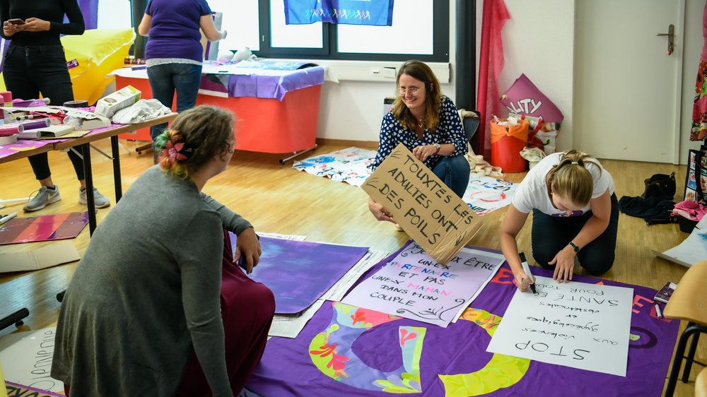 Le collectif féministe affiche la couleur: le 14 juin 2020 sera violet!