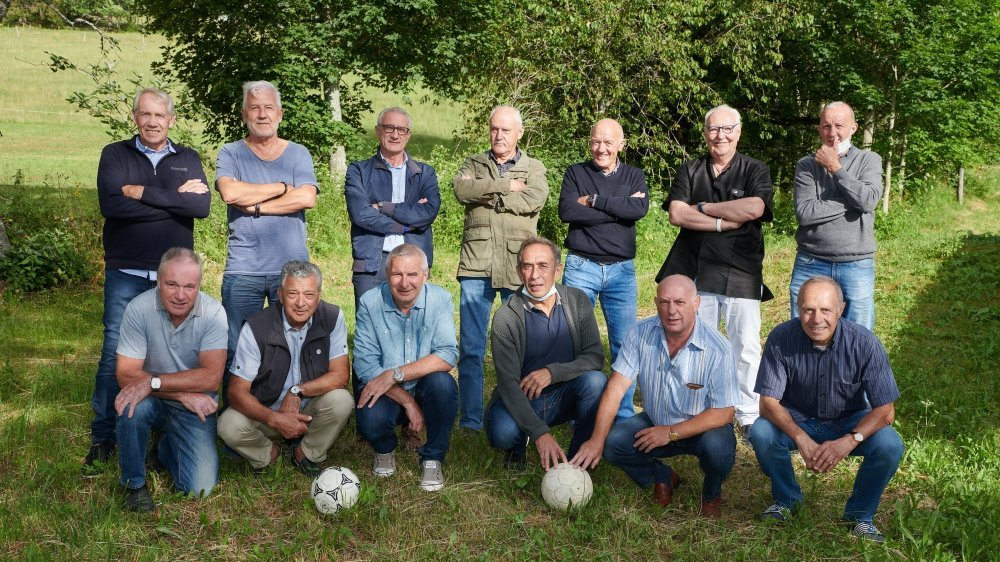 Les anciens du FC Superga se sont retrouvés ce jeudi soir quarante ans après leur promotion historique en première ligue.