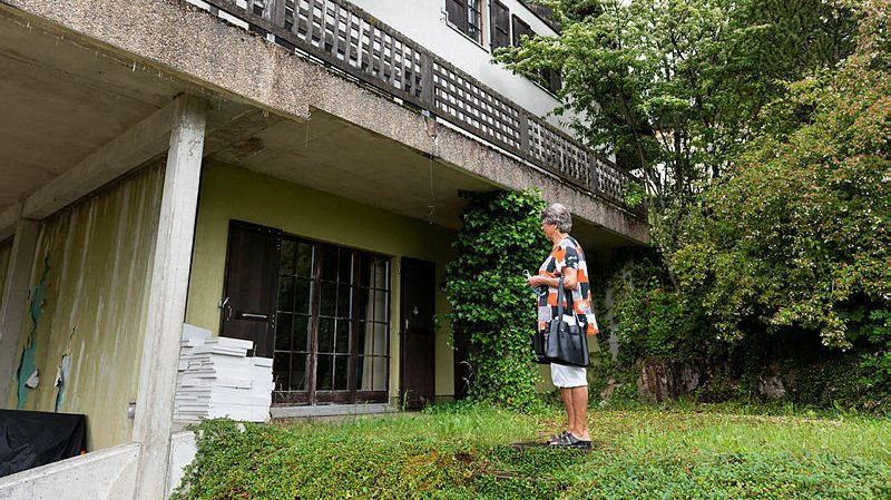 En 2017, Verena Luder a acheté la maison de Jean-Luc Pieren, qui voulait éviter sa mise aux enchères.