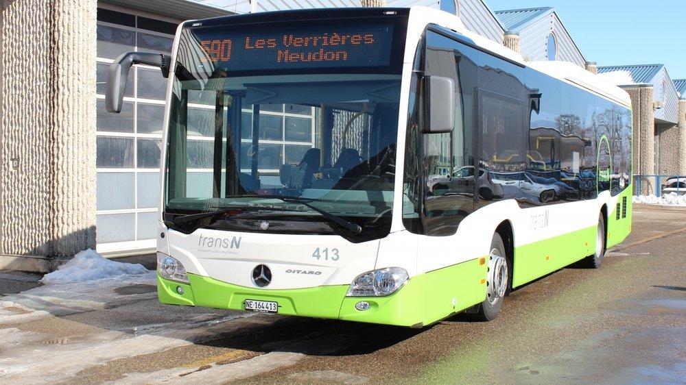 Les bus TransN de la ligne 590 s'arrêtaient aux Verrières depuis le mois de mars. Ils reprennent du service jusqu'à Pontarlier.