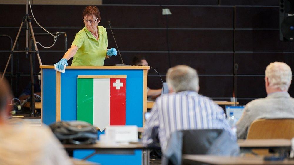 La place des femmes au Grand Conseil neuchâtelois a mis les partis politiques en désaccord.