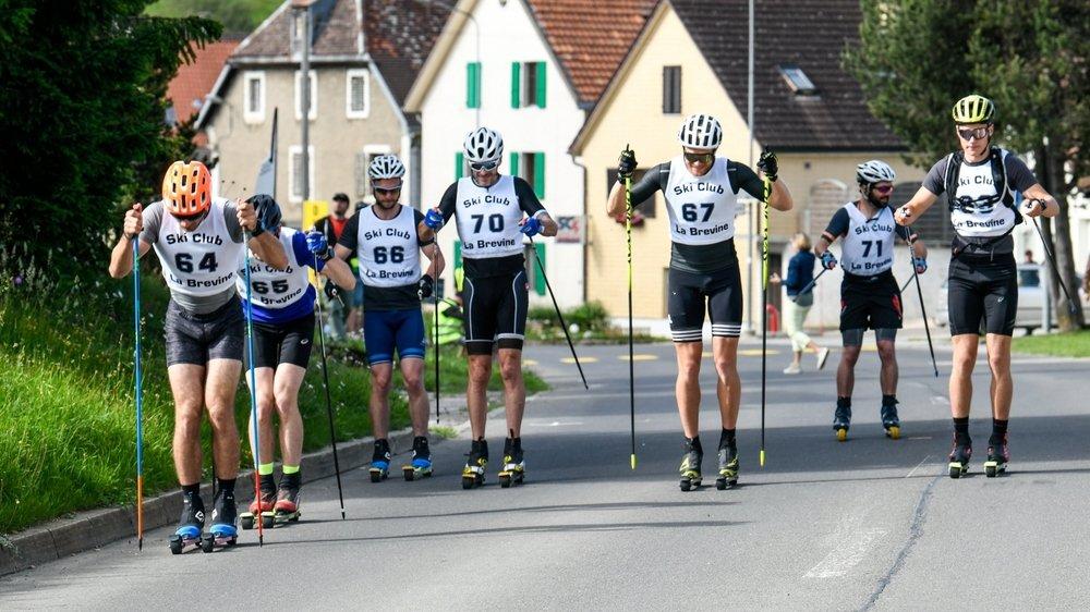 Dix sportifs ont pris part au défi de La Brévine organisé par Neuchallenge.