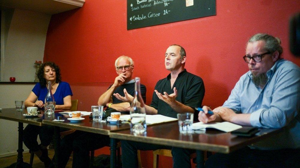 Des représentants des acteurs culturels neuchâtelois ont dit tout le mal qu'ils pensaient du projet de loi du Conseil d Etat.