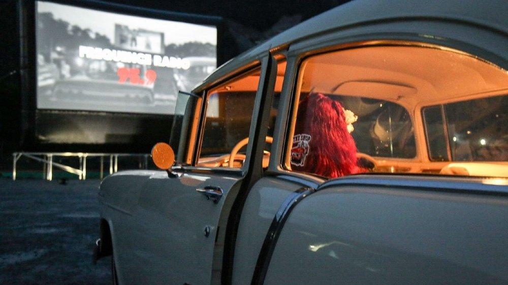 Les Vallonniers pourront aller au cinéma tout en restant dans leur voiture, comme ici en 2015 à Collombey (VS).
