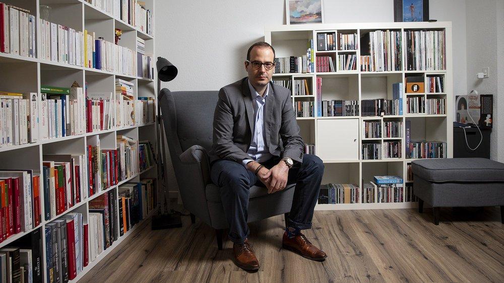 Patrick Linder, directeur de la Chambre d'économie publique du Jura bernois