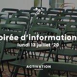 Soirée d'information ACTIVATION 2020