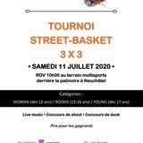 Tournoi de 3 x 3 Basket