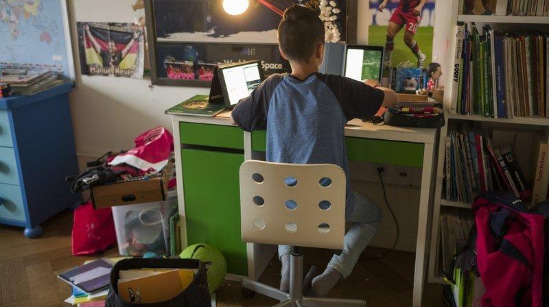 Un pour-cent des élèves neuchâtelois sont restés à la maison pour cause de Covid-19