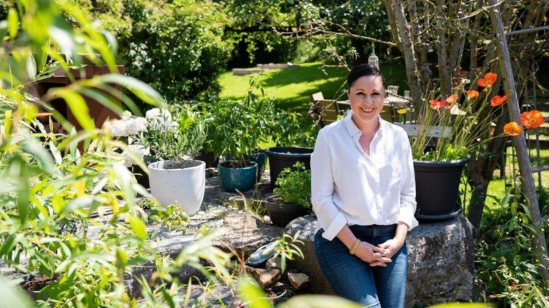 Fenin: Aurélie Candaux, productrice à la main verte