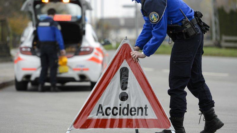 Nord vaudois: un grave accident de la route à Rances