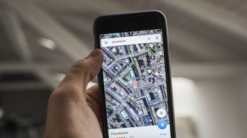 Google Maps veut faciliter les déplacements pendant la pandémie. (Illustration)