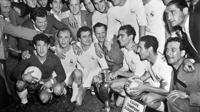 Football: 1956, la première des finales de Coupe d'Europe pour le Real Madrid