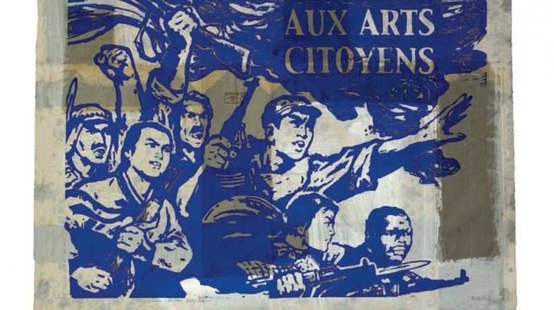 Le travail de François Burland s'affiche