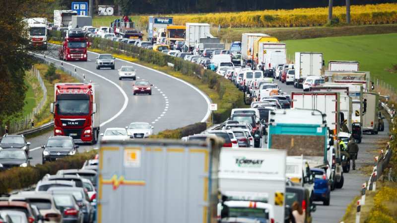 Vaud: une collision sur l'A1 fait 3 blessés à la Sarraz