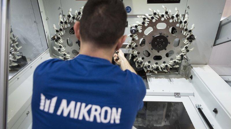 Mikron restructure, Boudry épargné
