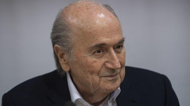 """M. Blatter était soupçonné d'avoir signé un """"contrat défavorable à la FIFA"""" avec l'Union caribéenne de football (CFU)."""