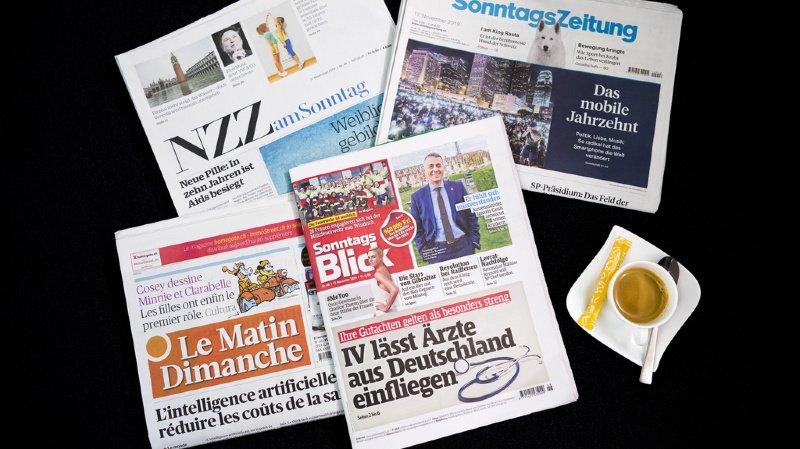 Revue de presse: traçage défaillant, affaire Maudet et rente de Blocher... les titres de ce dimanche