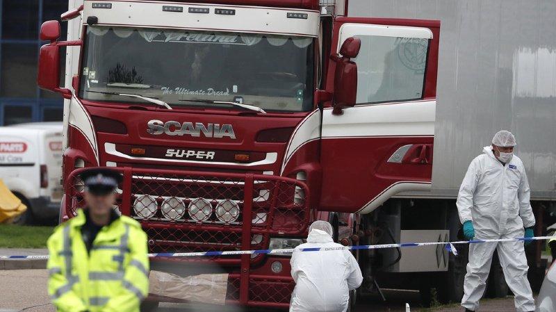 France: arrestation des 13 suspects impliqués dans la mort de 39 migrants dans un camion
