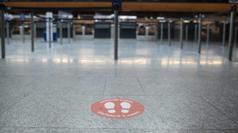 La crise du coronavirus a laissé de profondes traces dans l'économie suisse. (illustration)