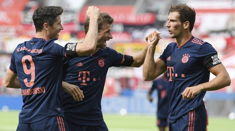 Football: un pas de plus pour le Bayern Munich