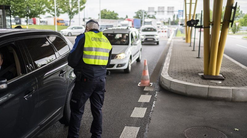 Le trafic frontalier a chuté de près de 80% entre le 16 mars et le 14 juin. (Archives)