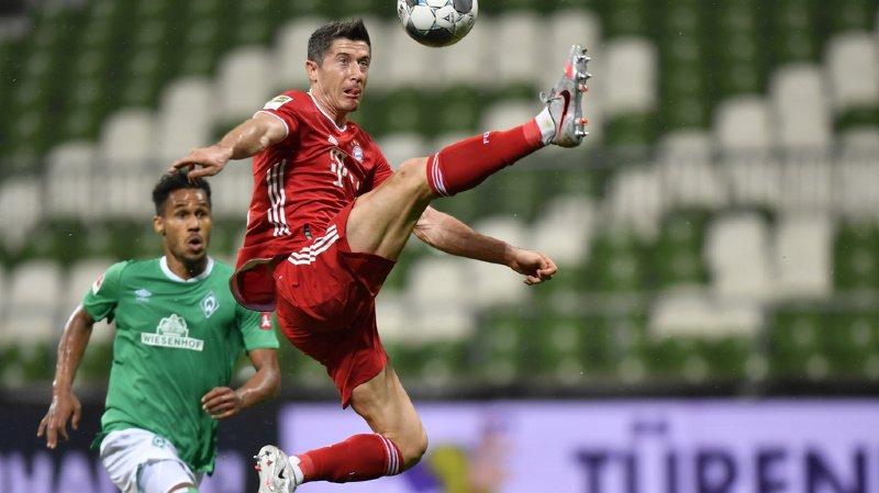 Allemagne: le Bayern champion de Bundesliga pour la 30e fois, la 8e consécutive