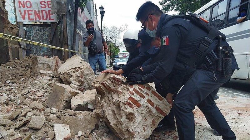 Séisme de 7,5 dans le sud du Mexique, risque de tsunami