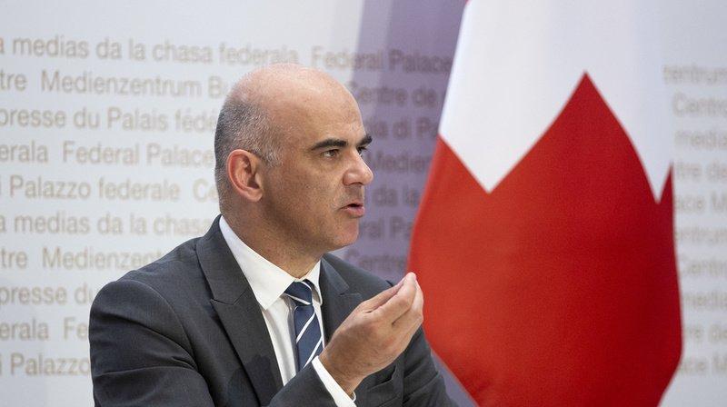 Coronavirus: Alain Berset lance un appel au respect des mesures de protection
