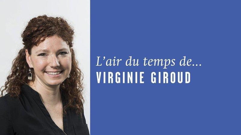«Complètement cramé», l'air du temps de Virginie Giroud