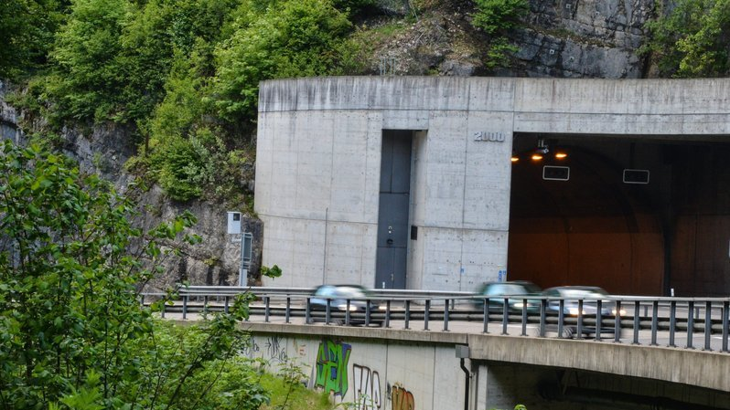Neuchâtel: le tunnel des gorges du Seyon sera fermé pendant deux nuits