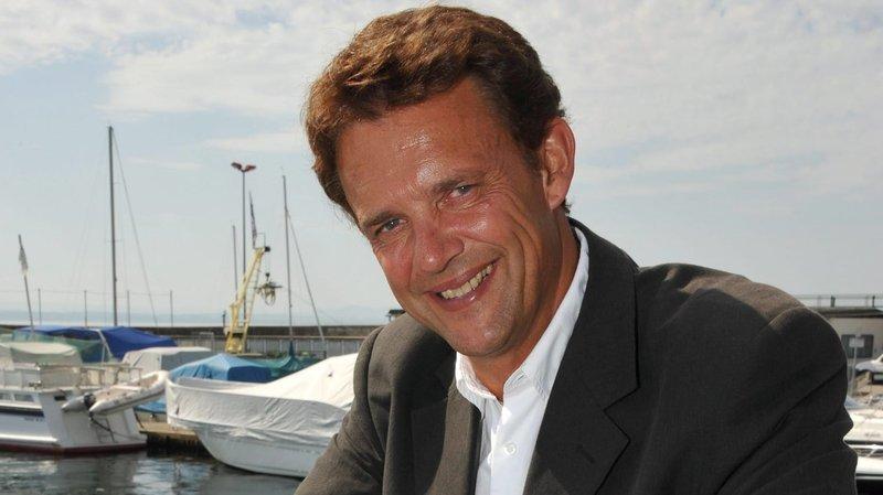Jean-Jacques Wenger, en 2011. Il dirigeait alors la Société de navigation sur les lacs de Neuchâtel et Morat.