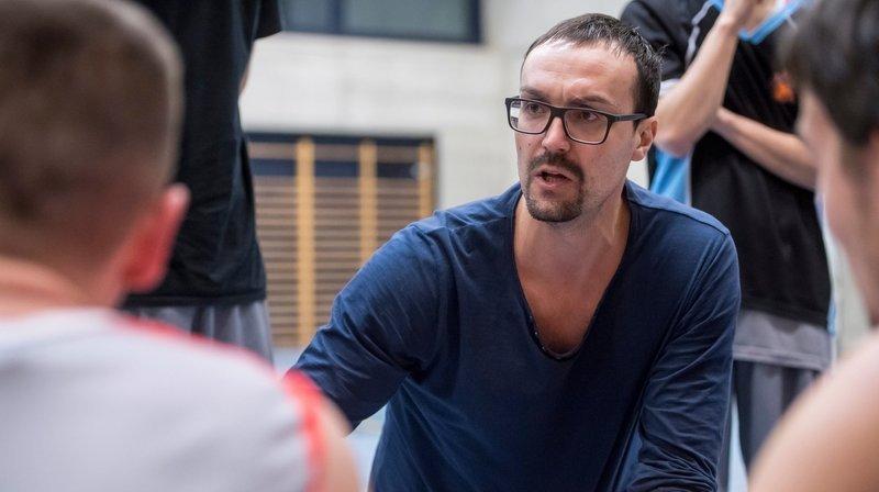 L'entraîneur de Val-de-Ruz Basket devient assistant à Fribourg Olympic