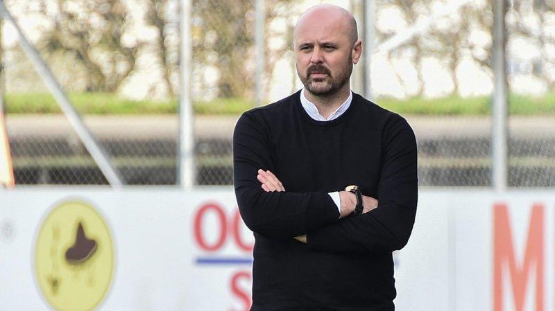 Meho Becirovic entraîneur de la première équipe de Colombier