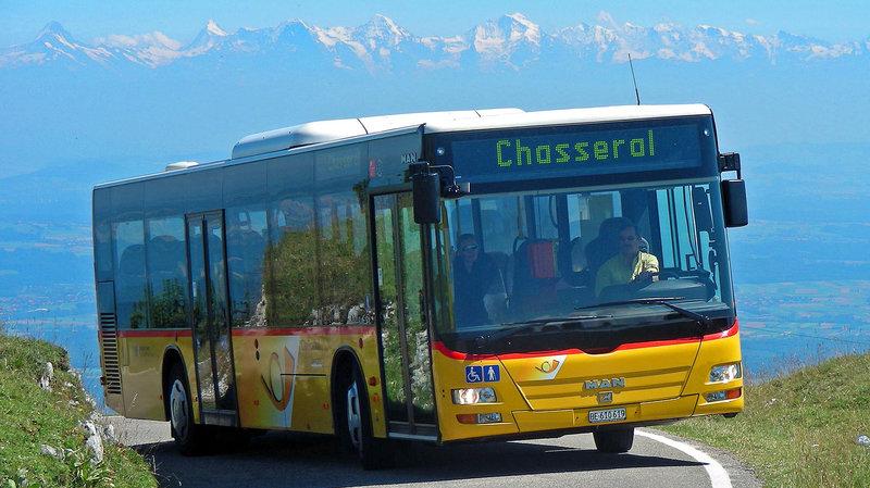 Les bus desservant le sommet de Chasseral reprennent du service