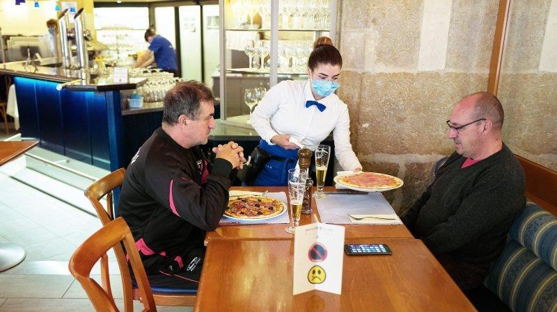 Restaurants neuchâtelois: un menu avec ou sans masque?