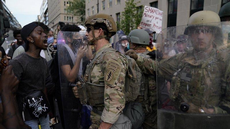 Racisme: le ministre de la Défense des Etas-Unis ne veut pas déployer l'armée