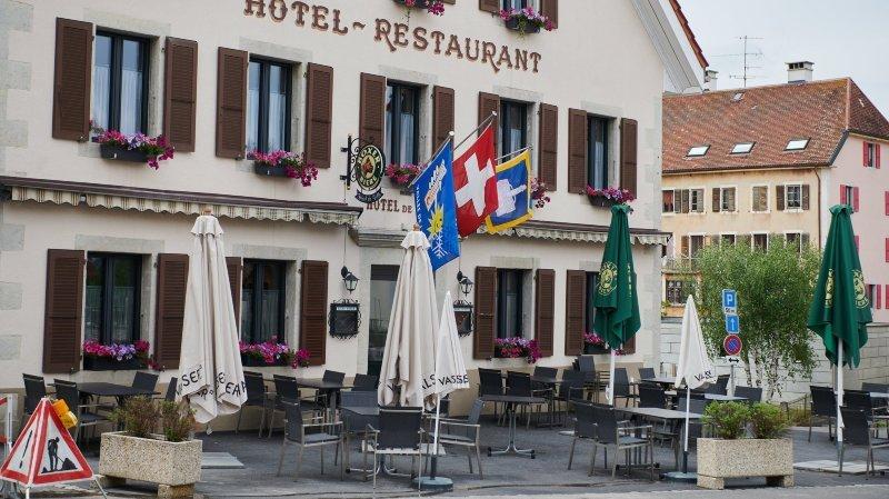 L'hôtel de ville rénové de La Brévine abrite un hôtel-restaurant. Archives: David Marchon