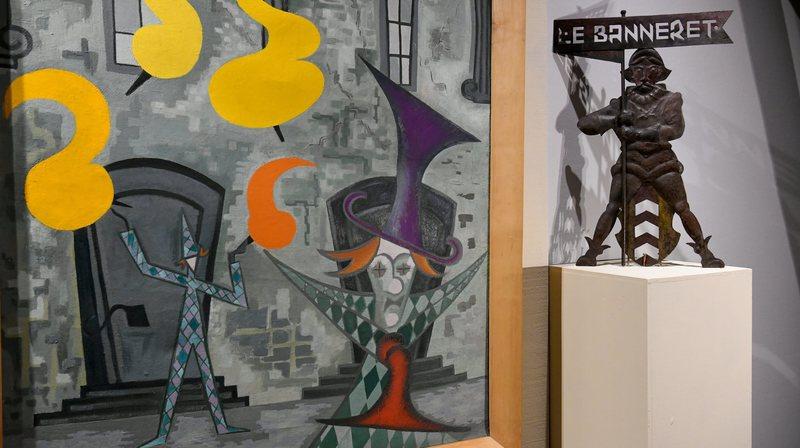Deux artistes neuchâtelois à redécouvrir au château de Boudry