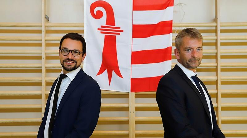 Le PDC Jura officialise les candidatures de Martial Courtet et Stéphane Babey
